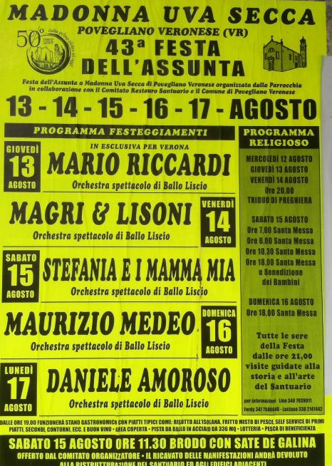 43 Festa dell'Assunta a Povegliano Veronese VR