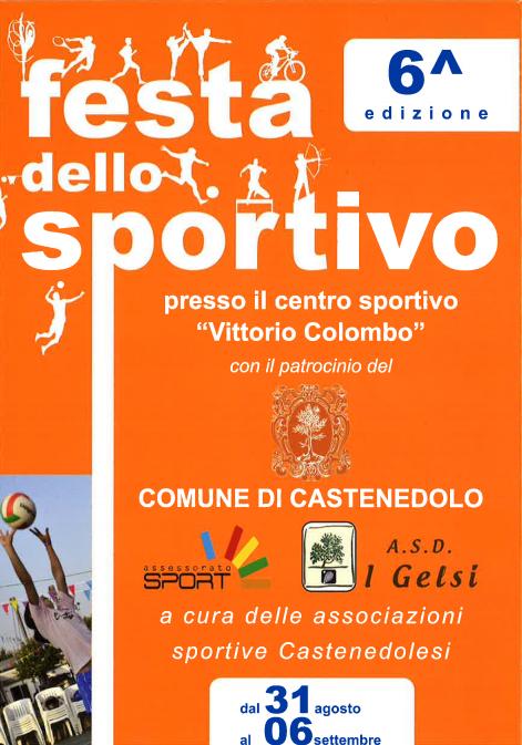 6 Festa dello Sportivo a Castenedolo