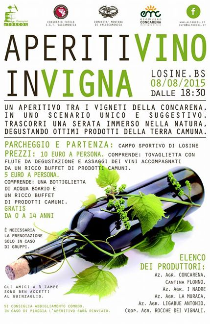 AperitiVino in Vigna 2015 a Losine