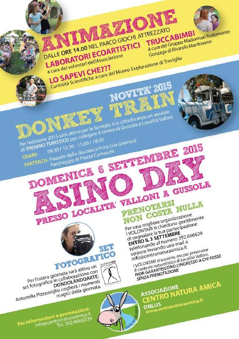 Asino Day 2015 a Gussola