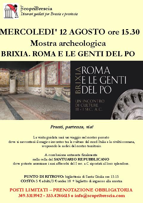 Brixia, Roma e le Genti del Po con Scopri Brescia