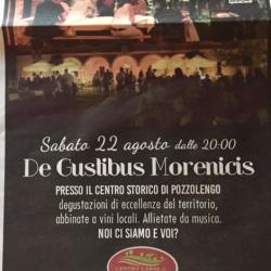 De Gustibus Morenicis a Pozzolengo
