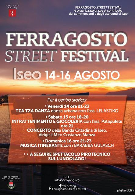 Ferragosto Street Festival a Iseo