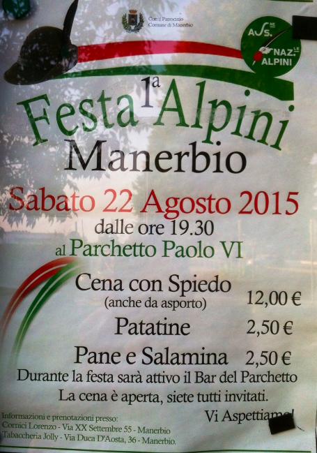 Festa Alpini Manerbio