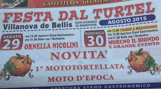 Festa del Turtel a San Giorgio di Mantova