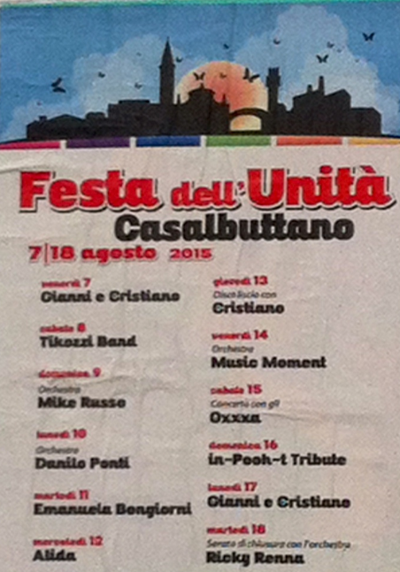 Festa dell'Unità a Casalbuttano