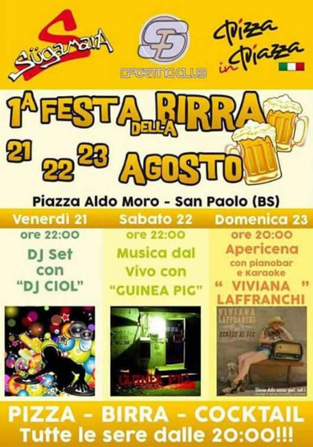 Festa della Birra ad Agosto a San Paolo