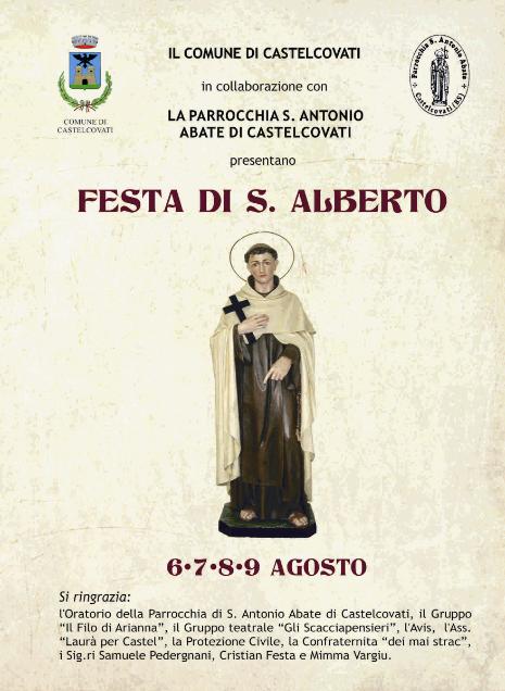 Festa di S. Alberto Castelcovati BS