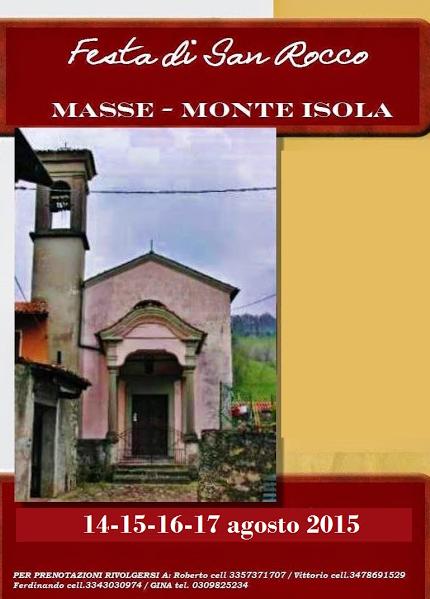 Festa di San Rocco 2015 a Monte Isola