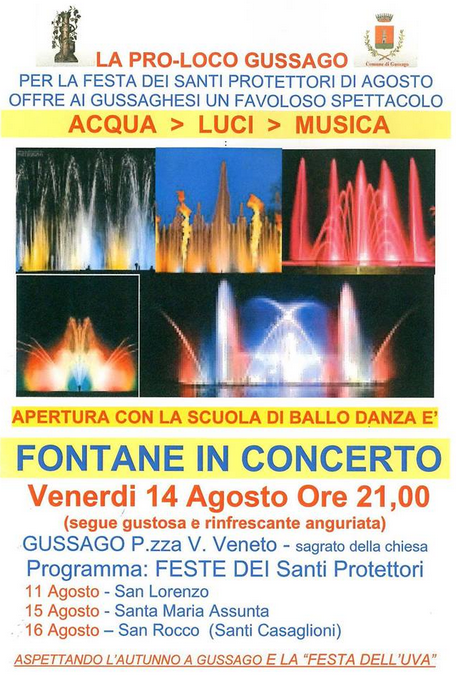 Fontane in Concerto a Gussago