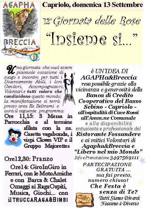Giornata delle Rose 2015 a Capriolo