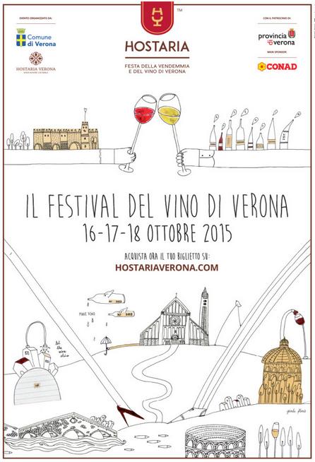Hostaria il Festival del Vino a Verona