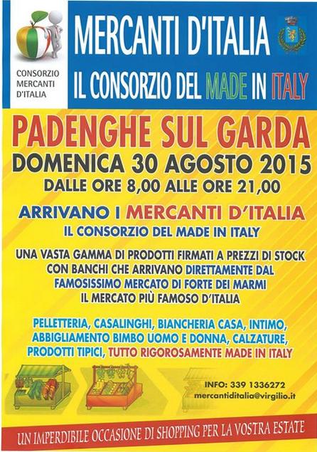 Mercanti d'Italia a Padenghe