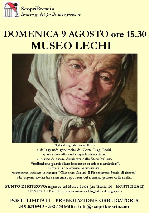 Museo Lechi con Scopri Brescia