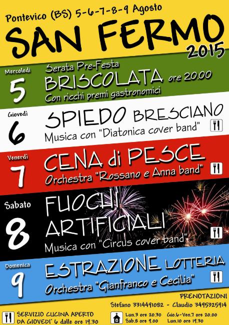 San Fermo 2015 a Pontevico