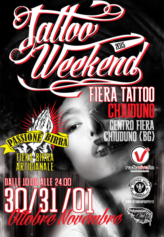 Tatto weekend a Chiuduno BG