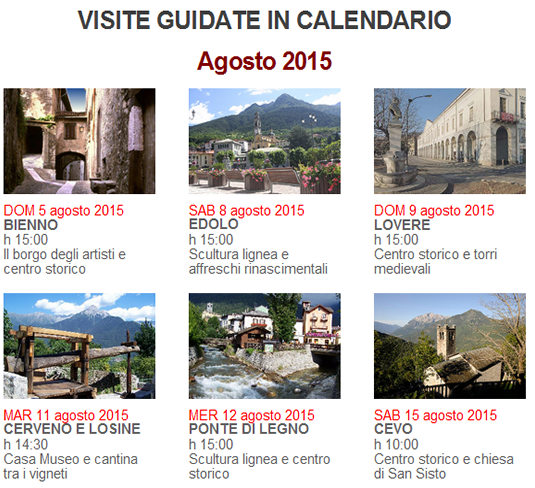 visite guidate in valle camonica