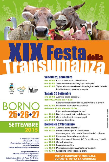 19 Festa della Transumanza a Borno