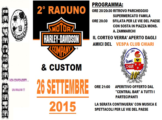 2° Raduno Harley Davidson & Custom a Castrezzato