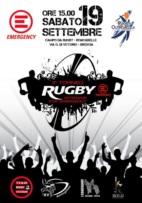 2 Torneo Rygby Veterans for Emergency a Roncadelle