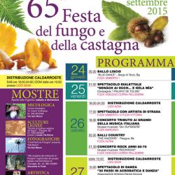 65 Festa del Fungo e della Castagna a Pisogne