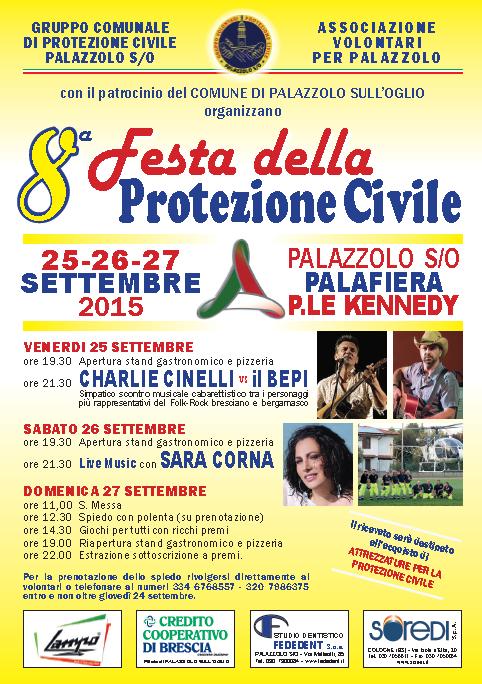 8 Festa della Protezione Civile a Palazzolo
