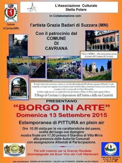 Borgo in Arte a Cavriana MN