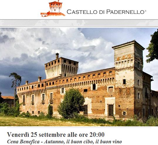 Cena Benefica al Castello di Padernello