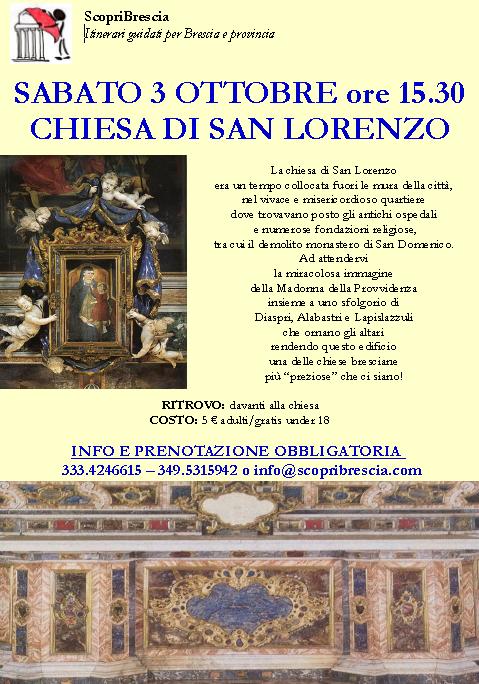 Chiesa di San Lorenzo con Scopri Brescia