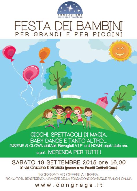 Festa dei Bambini per Grandi e per Piccini a Brescia