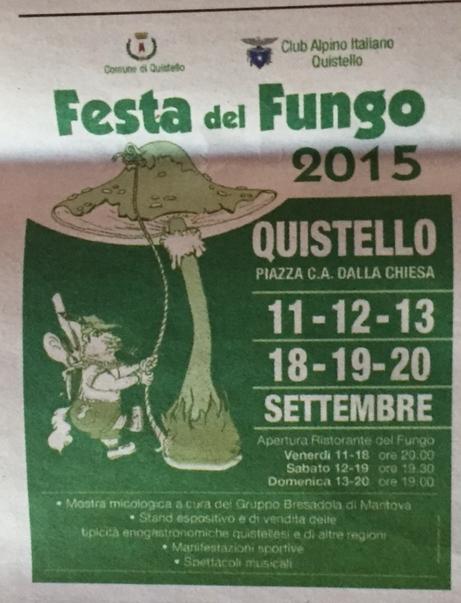 Festa del Fungo a Quistello