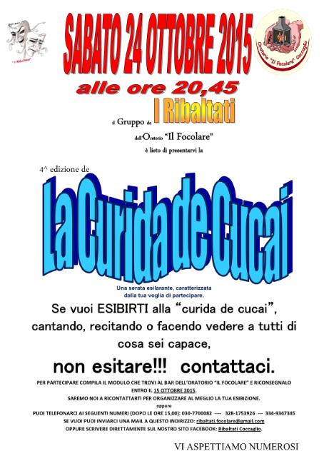 La Curida de Cucai a Coccaglio