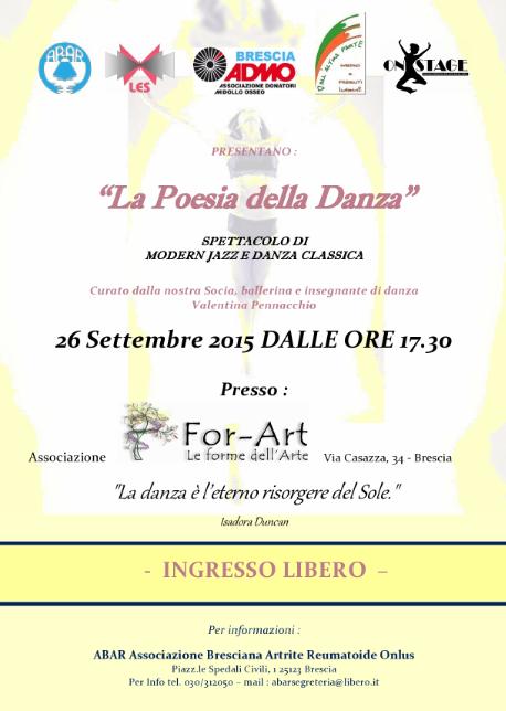 La Poesia della Danza a Brescia