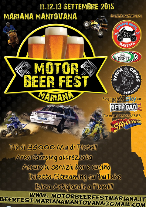 Motor Beer Fest a Mariana Mantovana