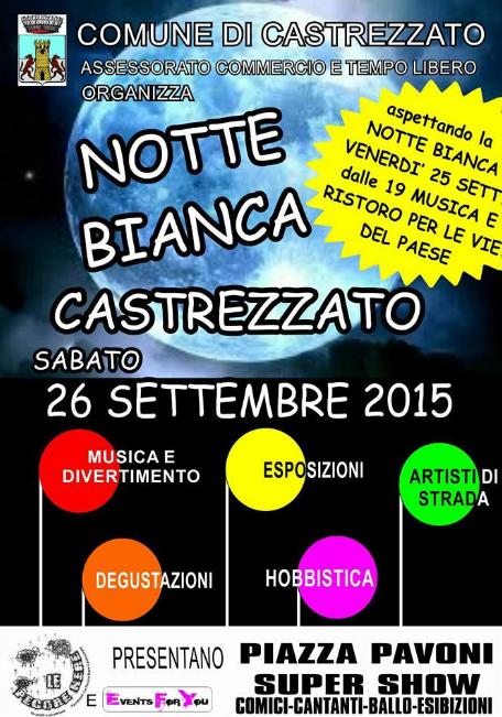Notte Bianca a Castrezzato