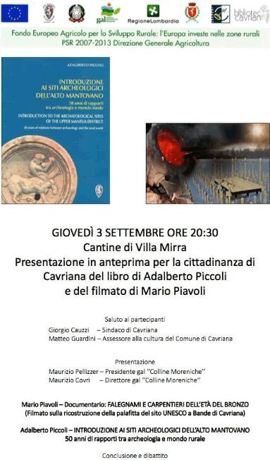 Presentazione Libro a Cavriana MN