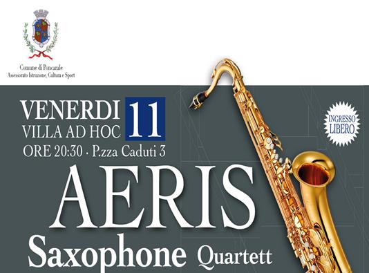 Saxophone Quartet a Poncarale