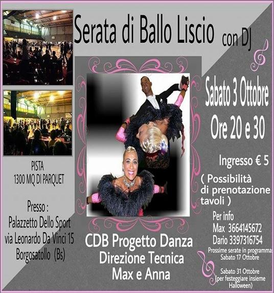 Serata Ballo Liscio a Borgosatollo