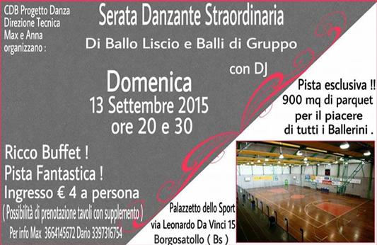Serata Danzante Straordinaria a Borgosatollo