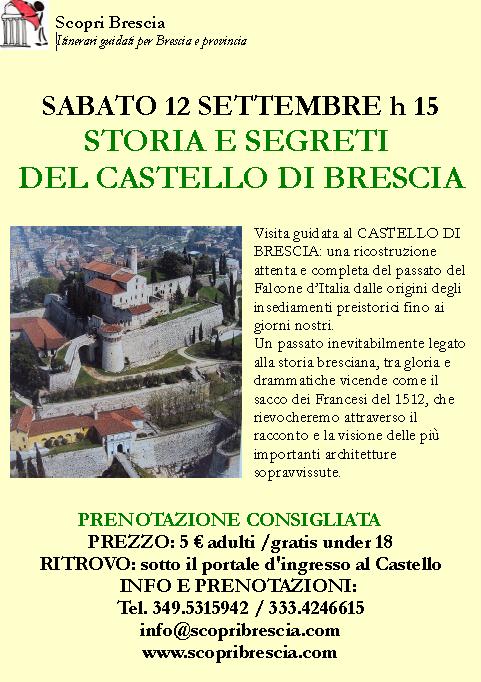 Storia e Segreti del Castello di Brescia