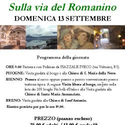 Sulla Via del Romanino - Itinerario in Valcamonica