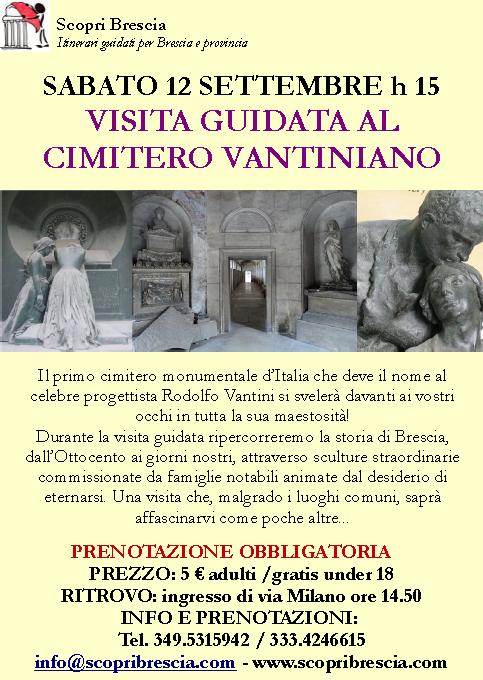 Visita Guidata al Cimitero Vantiniano