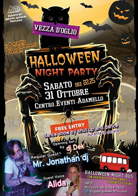 Halloween Party a Vezza d'Oglio