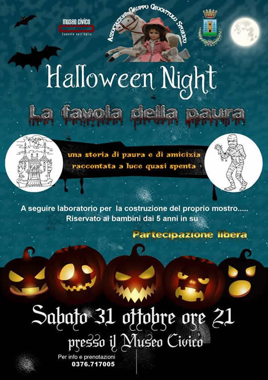 Halloween Night a Canneto sull'Oglio MN