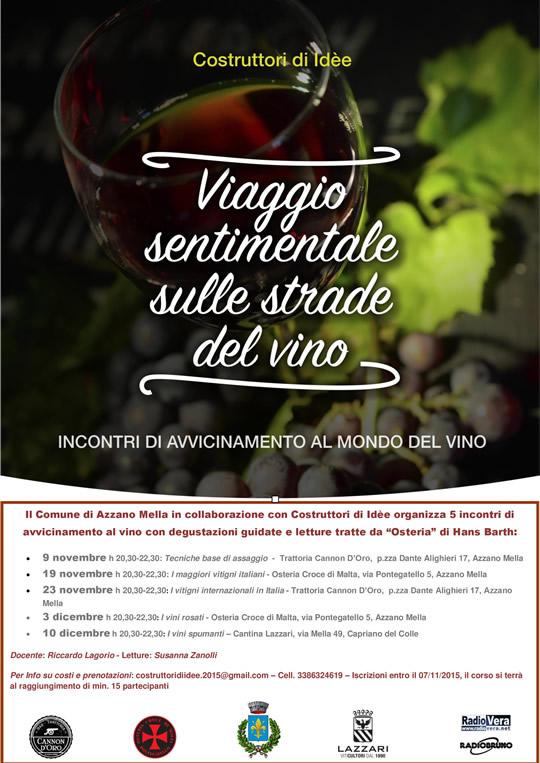 Viaggio sentimentale al mondo del vino