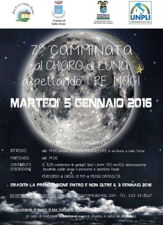 7 Camminata al Chiaro di Luna a Vallio Terme