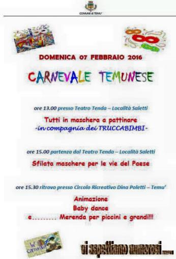 Carnevale Temutese