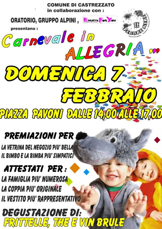 Carnevale in Allegria a Castrezzato