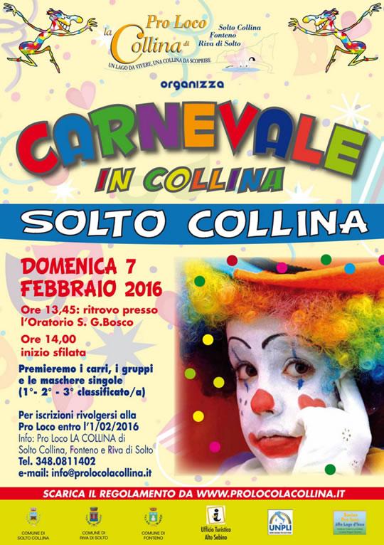 Carnevale in Solto Collina BG