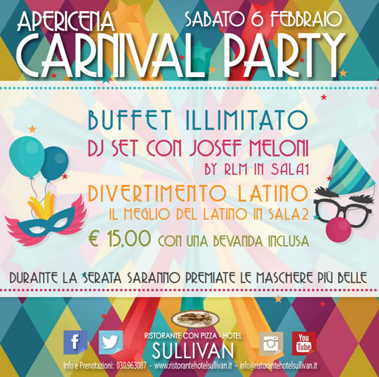 Carnival Party a Calcinato
